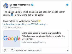"""广州深圳东莞佛山惠州中山珠海谷歌优化公司请注意:Google正式推出""""速度升级""""(speed update)算法"""