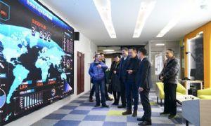 杭州江干区人民政府区长、副区长到访思亿欧