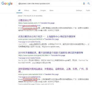 谷歌和百度搜索引擎使用技巧之如何搜索指定网站的内容